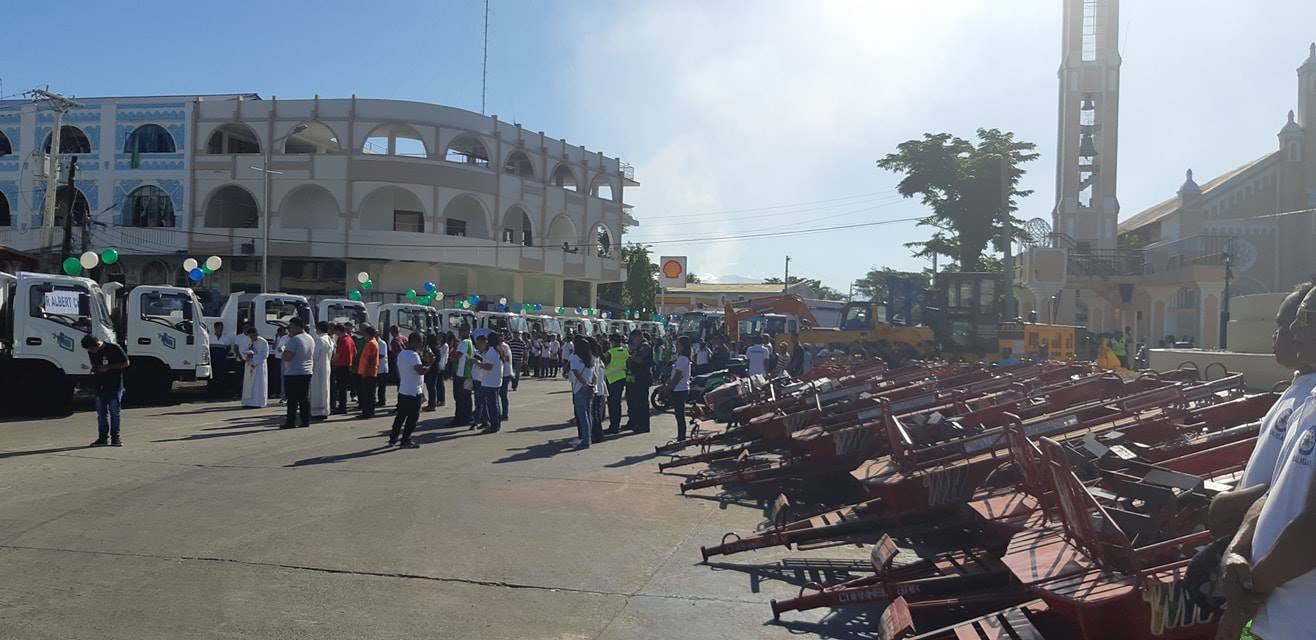 Blessing of Newly Acquired Mini Dump Trucks and Farm Machineries