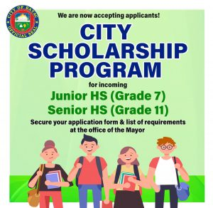 City Scholarship Program