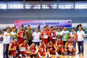 2019 SIRIB Basketball Tournament Provincial Champion – City of Batac!