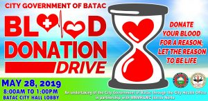 Blood Donation Drive – May 2019