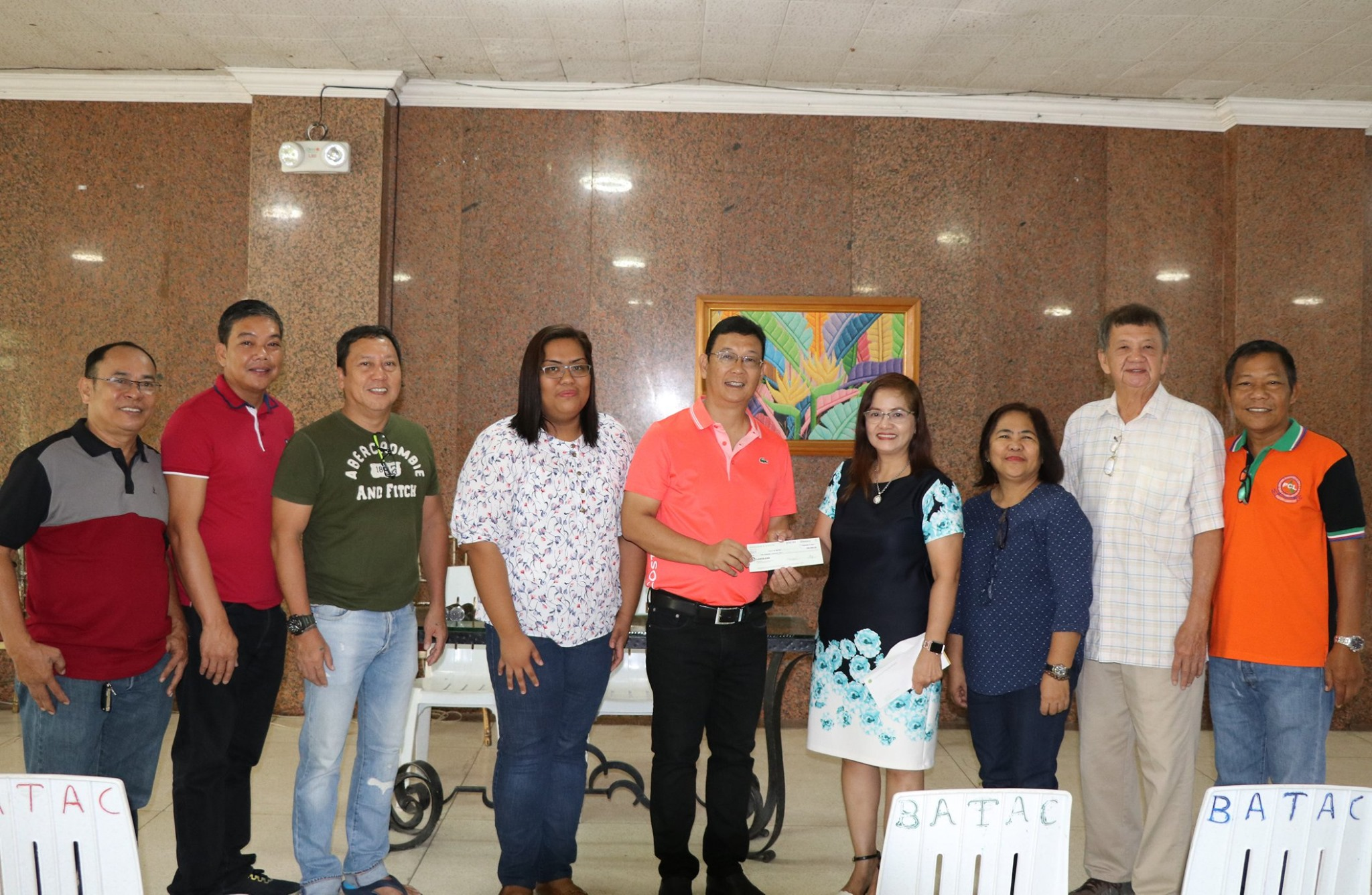 Assistance for Typhoon Ineng Victims from Land Bank of the Philippines