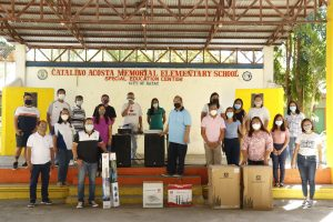 Turn Over of Sound Systems to Four Elementary Schools