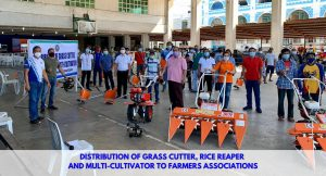 Distribution of Agricultural Machineries and Equipment